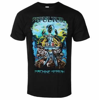 tričko pánské Sepultura - Machine Messiah - Black - INDIEMERCH, INDIEMERCH, Sepultura