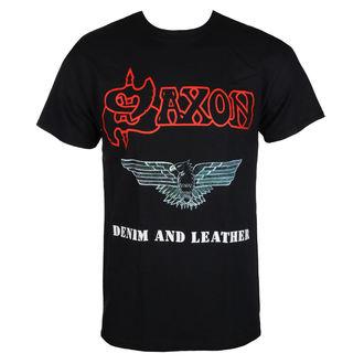 tričko pánské SAXON - DENIM & LEATHER - RAZAMATAZ, RAZAMATAZ, Saxon