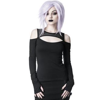 tričko dámské s dlouhým rukávem KILLSTAR - Seraphim - BLACK - KSRA001644