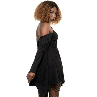 šaty dámské KILLSTAR - Dark Aura - Black, KILLSTAR