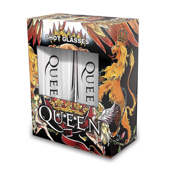 panáky (sada) Queen - Crest - RAZAMATAZ, RAZAMATAZ, Queen
