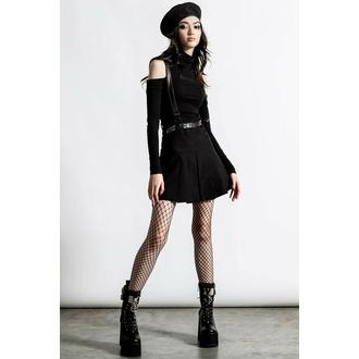sukně dámská KILLSTAR - Shadows Suspender - Black, KILLSTAR