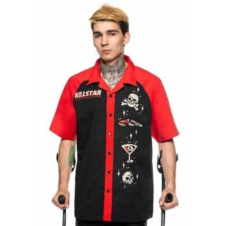 košile pánská KILLSTAR - She Devil Bowling - Black, KILLSTAR