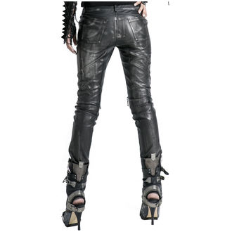 kalhoty dámské PUNK RAVE - Therion - black/silver, PUNK RAVE