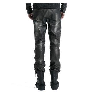 kalhoty pánské PUNK RAVE - Therion - black/silver, PUNK RAVE