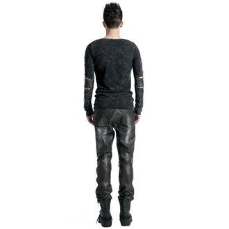 kalhoty pánské PUNK RAVE - Therion - black/silver - K-145-male-bk