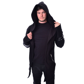 mikina pánská (cardigan) Vixxsin - ARCHER - BLACK - POI824