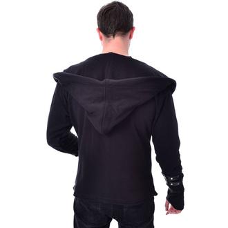 mikina pánská (cardigan) Vixxsin - ARCHER - BLACK, VIXXSIN