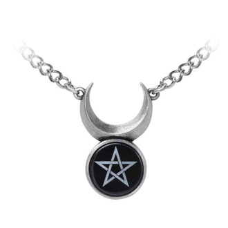 obojek ALCHEMY GOTHIC - Sin-Horned God - Pewter, ALCHEMY GOTHIC
