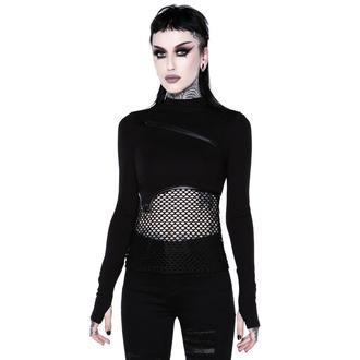 tričko dámské s dlouhým rukávem (top) KILLSTAR - SIndi Fishnet Top, KILLSTAR