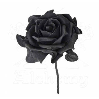 dekorace ALCHEMY GOTHIC - Single Black Rose with Stem, ALCHEMY GOTHIC