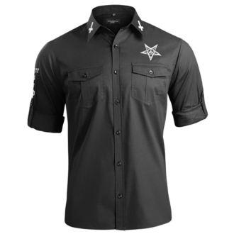 košile pánská s dlouhým rukávem AMENOMEN - BELIEVE IN YOURSELF, AMENOMEN