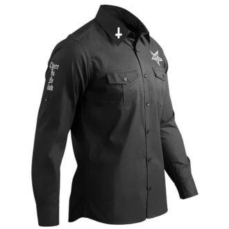 košile pánská s dlouhým rukávem AMENOMEN - BELIEVE IN YOURSELF