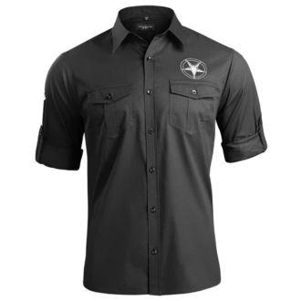 košile pánská s dlouhým rukávem AMENOMEN - CHURCH OF SATAN, AMENOMEN