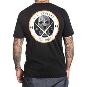 tričko pánské SULLEN - SKI CLUB - BLACK