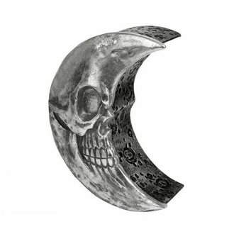 dekorace (krabička) ALCHEMY GOTHIC - Skull Moon - Silver, ALCHEMY GOTHIC