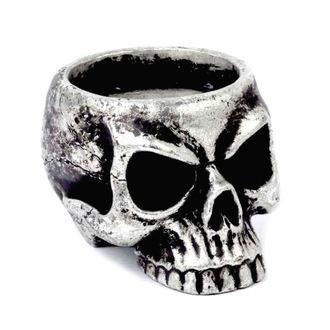 svícen (dekorace) ALCHEMY GOTHIC - Skull Tea, ALCHEMY GOTHIC