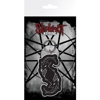 klíčenka (přívěšek) SLIPKNOT - GB posters, GB posters, Slipknot