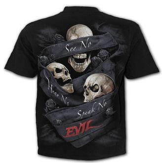 tričko pánské SPIRAL - SEE NO EVIL - Black, SPIRAL