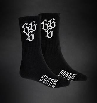ponožky HYRAW - 666 - WHITE, HYRAW