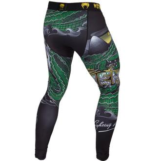 kalhoty pánské (legíny) VENUM - Crocodile - Black/Green