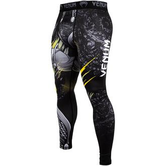 kalhoty pánské (legíny) Venum - Viking 2.0 - Black/Yellow, VENUM