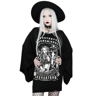 tričko dámské (tunika) KILLSTAR - Spellcaster Kimono - BLACK - KSRA001821