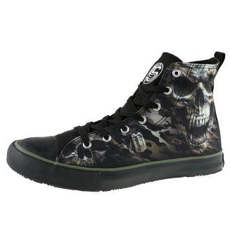 boty pánské SPIRAL - CAMO-SKULL - Sneakers, SPIRAL