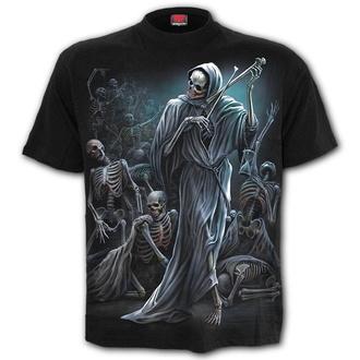 tričko pánské SPIRAL - DANCE OF DEATH - Black - K068M101