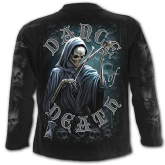 tričko pánské s dlouhým rukávem SPIRAL - DANCE OF DEATH - Black, SPIRAL
