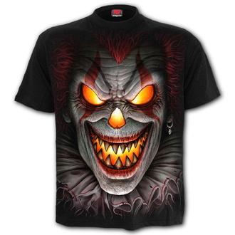 tričko pánské SPIRAL - FRIGHT NIGHT - Black - K071M101