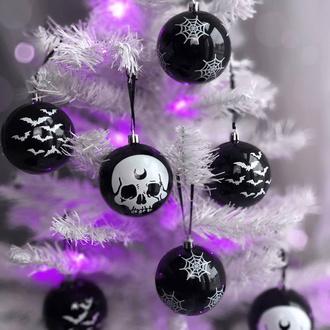 vánoční výzdoba (baňka) KILLSTAR - Spooky - Hexmas Baubles, KILLSTAR