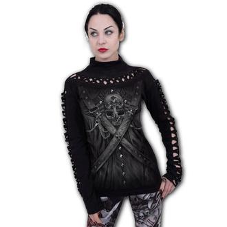 tričko dámské s dlouhým rukávem SPIRAL - STRAPPED - Waterfall Slits - T176F476