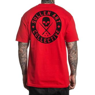 tričko pánské SULLEN - CLASSIC - RED - SCM3008_RD
