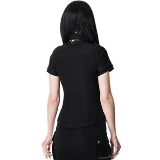 košile dámská KILLSTAR - Squadron - BLACK, KILLSTAR