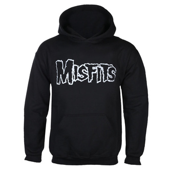 mikina pánská MISFITS - LOGO +SKULL OVERHEAD - BLACK - GOT TO HAVE IT - LN1/3610