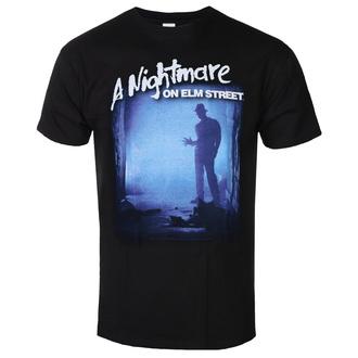 tričko pánské Nightmare On Elm Street - Freddy Is Waiting - Black, BIL, Noční můra z Elm Street