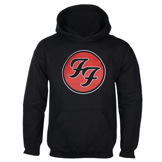 mikina pánská FOO FIGHTERS - RED CIRCULAR LOGO - BLACK - GOT TO HAVE IT, GOT TO HAVE IT, Foo Fighters