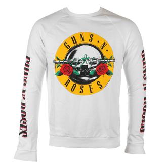 mikina pánská Guns N' Roses - Classic & Text Logos - WHT - ROCK OFF - GNRSWT04MW