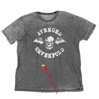 tričko pánské Avenged Sevenfold - Deathbat - ROCK OFF - POŠKOZENÉ, ROCK OFF, Avenged Sevenfold