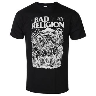 tričko pánské Bad Religion - Wasteland - Black, KINGS ROAD, Bad Religion