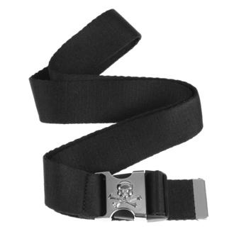 pásek URBAN CLASSICS - Skull - black, URBAN CLASSICS