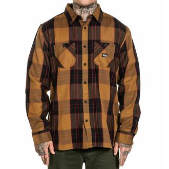 košile pánská SULLEN - JOBSITE - SCM3117_RUBR