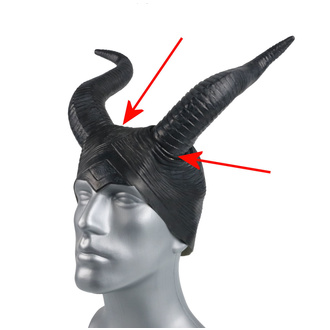 maska (rohy) ZOELIBAT - POŠKOZENÁ - MA417
