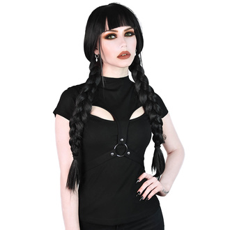 tričko dámské KILLSTAR - Stacy Strap - BLACK - KSRA001690
