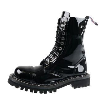 boty STEADY´S - 10 dírkové - Glossy black, STEADY´S