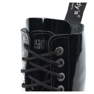 boty STEADY´S - 10 dírkové - Glossy black - STE/10_glossy black