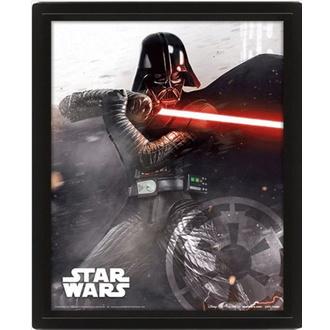 obraz 3D STAR WARS - VADER VS SKYWALKER - PYRAMID POSTERS, PYRAMID POSTERS, Star Wars