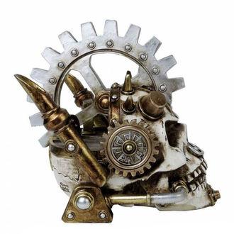 dekorace ALCHEMY GOTHIC - Steamhead Skull, ALCHEMY GOTHIC