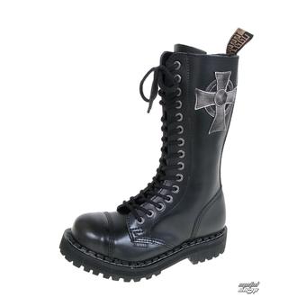 boty STEEL - 15 dírkové 135/136 0 BLACK CROSS